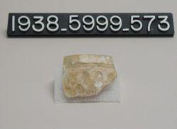 Deep cut-glass bowl (rim and side fragment)