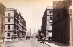 York Street from Barrack Street, Sydney, from the album [Sydney, Australia]