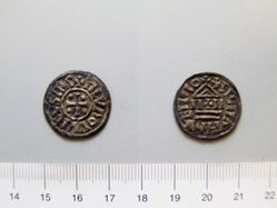 1 Denier of Louis the Pious (Louis I)