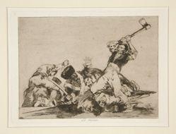 Lo mismo (The Same), pl. 3 from Los desastres de la guerra (The Disasters of War)
