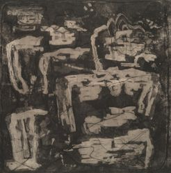 The Stone Figures That Walk at Night [In the Land where the Trees Talk]