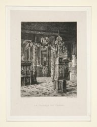 La galerie de chêne (The Oak Gallery), pl. 6 from the suite Chez Victor Hugo (Victor Hugo's House)