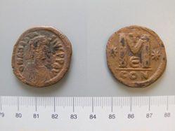 Large follis (40-nummi) of Anastasius