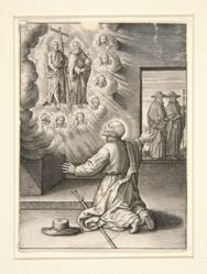 Vision of God the Father and Christ, from the series The Life of Ignatius of Loyola