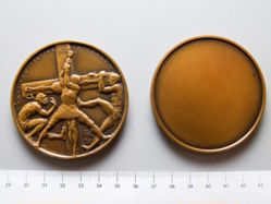 Bronze Medal of Crucifixion