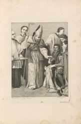 Confirmation from the series I sette sacramenti (The Seven Sacraments)