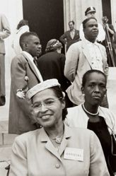 Rosa Parks and Ella Barker, from the series Prayer Pilgrimage for Freedom