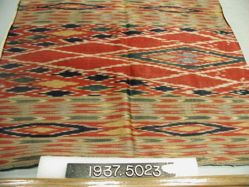 Length of ikat satin