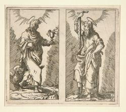 Saint John and Saint Simon