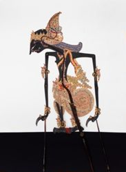 Shadow Puppet (Wayang Kulit) of Prabu Abiyoso or Kresnadipayana, from the consecrated set Kyai Nugroho