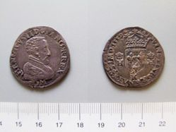 1 Teston of King Francois I from Bordeaux