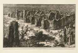 Rovine delle Terme Antoniniane (Ruins of the Antonine Baths [Baths of Caracalla]), from Vedute di Roma