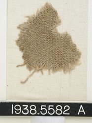 Textile, fragment of twill