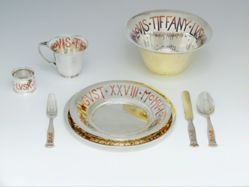 Plate from Child's Dinner Set