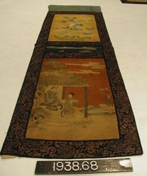 Silk tapestry panel kese