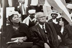 Mahalia Jackson and Bishop Sherman Lawrence Greene, from the series Prayer Pilgrimage for Freedom