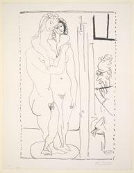 Les deux modeles nus (Two Nude Models)