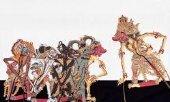 Shadow Puppet (Wayang Kulit) of Kapi Mangkara or Kapi Yuyukingking, from the consecrated set Kyai Nugroho