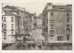 "Venezia, 6 photogravures from ""Calli e Canali"""