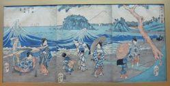 Scenery of Seven-mile Beach: Visiting the Enoshima in Sagami Region