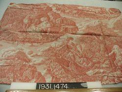 "Length of printed cotton, ""Genevieve de Brabant"""