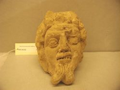 Head of a satyr (probably Marsyas)