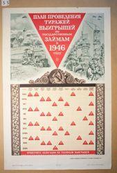 Plan provedeniia tirazhei vyigryshei po gosudarstvennym zaimam v 1946 godu (Plan for conducting circulation gains for the state loans in 1946)