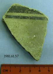 Body fragment (on sherd written 'Dull Mycean. Ware')