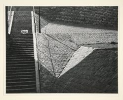 Staircase in Montmarte, from A Portfolio of 10 Photographs