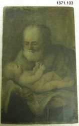 Saint Joseph and the Infant Christ