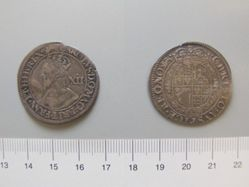 Silver Shilling of Charles I from York