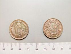 1 Franc from Bern