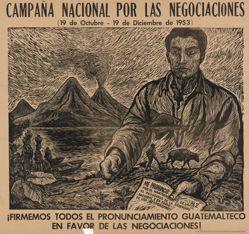Campaña nacional por las negociaciónes (National Campaign for Negotiations)