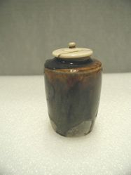 Tea Caddy (Cha-Ire) with Ivory Lid