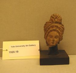 Tanagra Woman's Head
