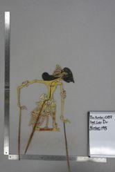Shadow Puppet (Wayang Kulit) of Sumitro, from the set Kyai Drajat