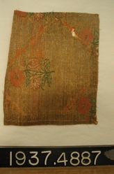 Fragment of compound brocaded weft twill