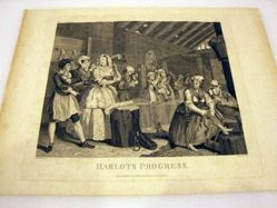 The Harlot's Progress, Plate 4