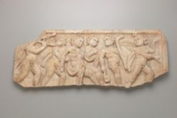 Fragment of relief from a child's sarcophagus