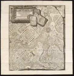ICHNOGRAPHIAM CAMPI MARTII ANTIQUAE URBIS (Ichnographia of the Campus Martius of the Ancient City)