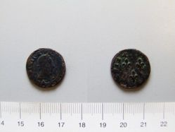 Copper double tournois of Henry III from Paris