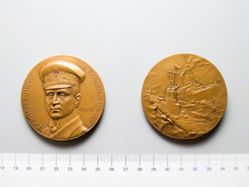 Bronze Medal of Otto Eduard Weddigen