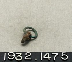 Bronze Ring with Iron Gadget