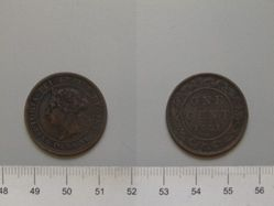 Cent of Queen Victoria from Canada
