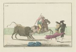 Plate IV, from the series Colección de las principales suertes de una corrida de toros (Collection of the Main Actions in a Bullfight)