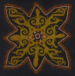 Textile with Beadworks