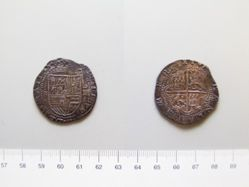Silver 4 Reales of Philip II from Seville