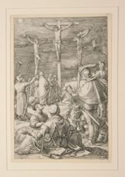 The Crucifixion (Christ on the Cross), from The Passion, #10 in a series of 12 engravings