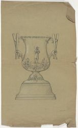 Drawing for a Baseball Trophy