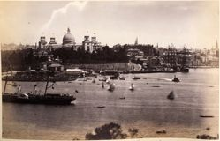 Exhibition Building, Sydney, from the album [Sydney, Australia]